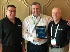 Altech's 2018 Sales Achievement Award at EDS in Las Vegas