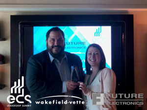 Wakefield-Vette's 2018 Highest POS Revenue Growth Award at EDS in Las Vegas
